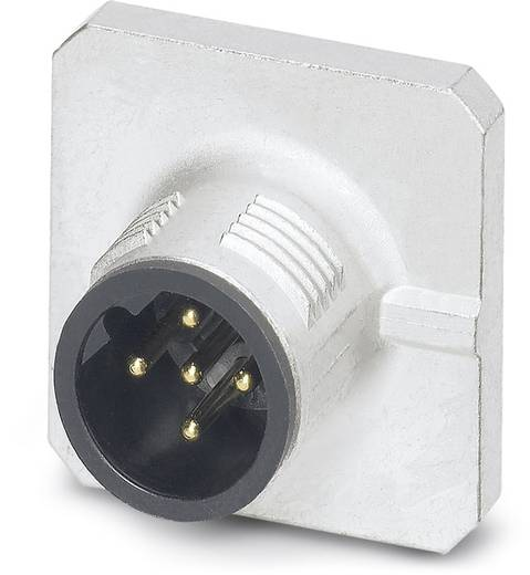 Sensor-/Aktor-Einbausteckverbinder M12 Stecker, Einbau Polzahl (RJ): 5 Phoenix Contact 1456459 SACC-SQ-M12MSB-5CON-20-L