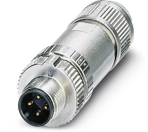 Sensor-/Aktor-Steckverbinder, unkonfektioniert M12 Stecker, gerade Polzahl (RJ): 4 Phoenix Contact 1432729 SACC-MS-4SC
