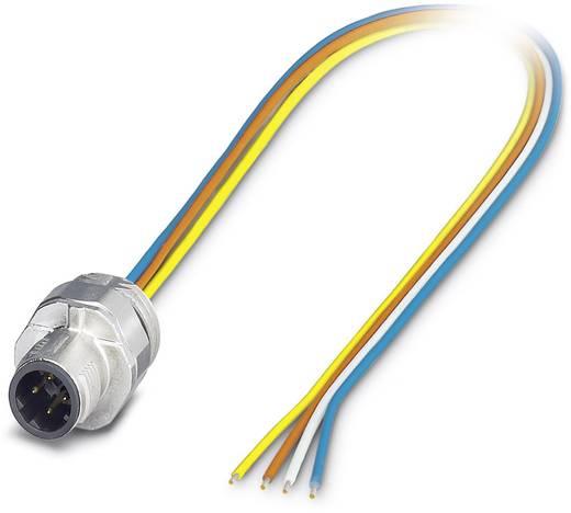 Sensor-/Aktor-Einbausteckverbinder M12 Stecker, Einbau 0.50 m Polzahl: 4 Phoenix Contact 1552256 SACC-EC-MSD-4CON-M16/0,