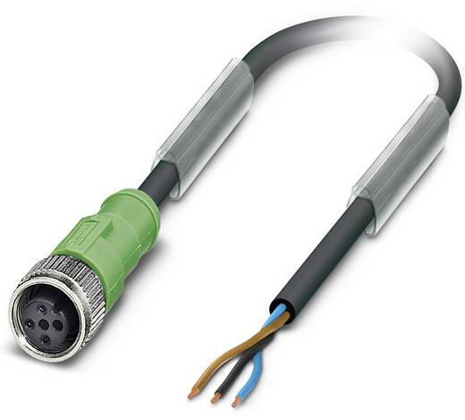 Sensor-/Aktor-Steckverbinder, konfektioniert M12 Buchse, gerade 15 m Polzahl (RJ): 3 Phoenix Contact 1694088 SAC-3P-15,0