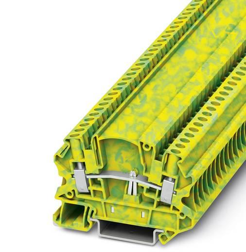 UTMED 4-PE - Schutzleiter-Reihenklemme UTMED 4-PE Phoenix Contact Grün-Gelb Inhalt: 50 St.