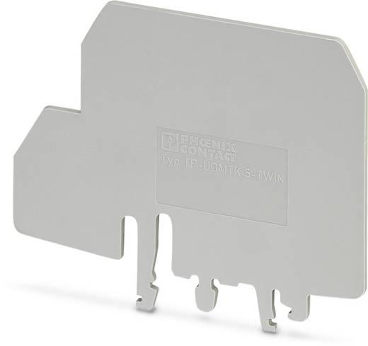 TP-UDMTK 5-TWIN - Trennplatte TP-UDMTK 5-TWIN Phoenix Contact Inhalt: 10 St.