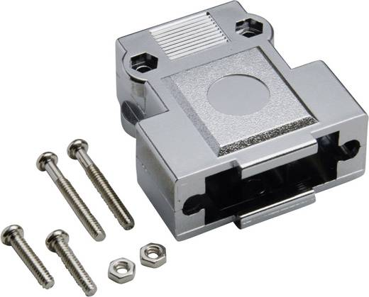 D-SUB Gehäuse Polzahl: 9 Kunststoff, metallisiert 180 ° Silber BKL Electronic 10120247 1 St.