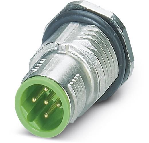 Sensor-/Aktor-Einbausteckverbinder M12 Stecker, Einbau Polzahl (RJ): 5 Phoenix Contact 1456572 SACC-DSI-MSB-5CON-L180/S