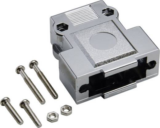 D-SUB Gehäuse Polzahl: 25 Kunststoff, metallisiert 180 ° Silber BKL Electronic 10120249 1 St.