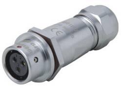 Kabelový Push-Pull konektor Weipu SF1211/S3, zásuvka rovná, 3pól., 13 A, IP67