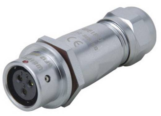 Push-Pull Rundsteckverbinder IP67 Pole: 5 In-Line Kabelbuchse 5 A SF1211/S5 II Weipu 1 St.