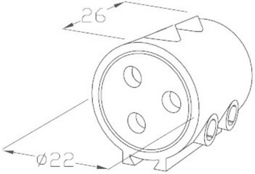 718842 Rundstecker Anschlussblock Serie (Rundsteckverbinder): THB Gesamtpolzahl: 5 1 St.