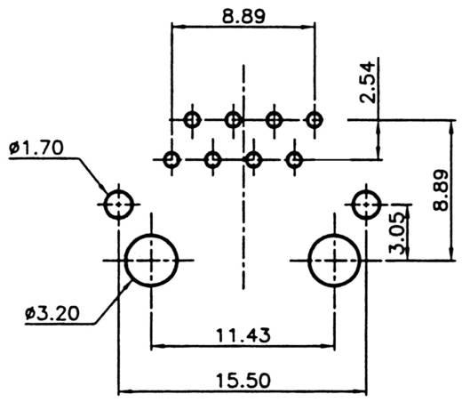 Modulare Einbaubuchse Buchse, Einbau horizontal Modulbuchse 8polig geschirmt Pole: 8P8C A-20042-LP/FS Silber ASSMANN WSW A-20042-LP/FS 1 St.