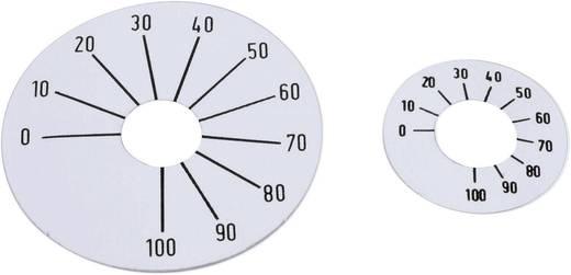 Skalenscheibe selbstklebend 0-100 270 ° Mentor 8132.2241 1 St.