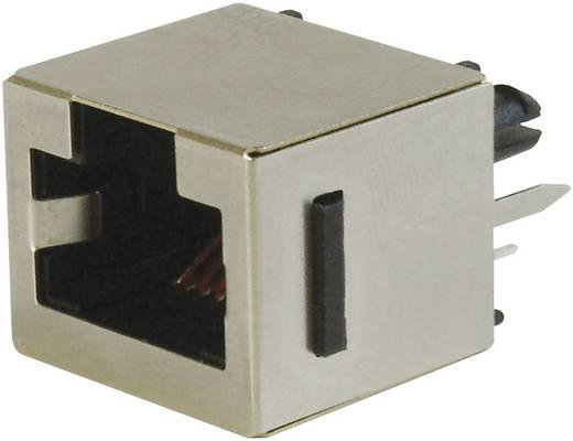 Modulare Einbaubuchse Top Entry Buchse, Einbau vertikal RJ45 Pole: 8P8C A-20142-LP/FS Schwarz ASSMANN WSW A-20142-LP/FS 1 St.
