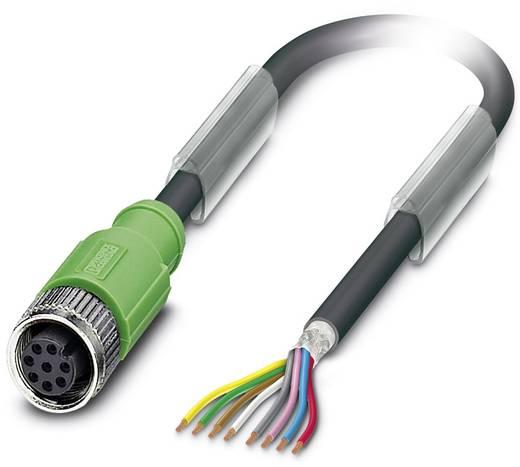Sensor-/Aktor-Steckverbinder, konfektioniert M12 Buchse, gerade 1.50 m Polzahl (RJ): 8 Phoenix Contact 1522862 SAC-8P- 1