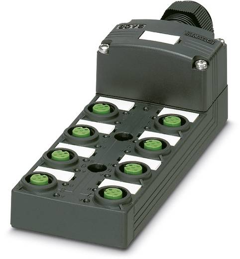 Sensor/Aktorbox passiv M12-Verteiler mit Kunststoffgewinde SACB-8/8-SC SCO P 1452961 Phoenix Contact 1 St.