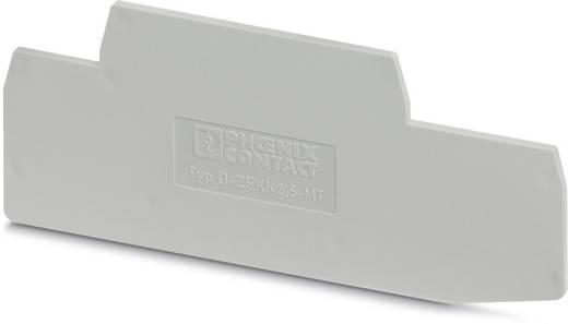 D-ZFKK 2,5-MT - Abschlussdeckel D-ZFKK 2,5-MT Phoenix Contact Inhalt: 50 St.