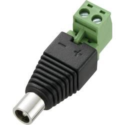 Nízkonapäťový konektor zásuvka, rovná Conrad Components DC12-F, 5.5 mm, 5.5 mm, 2.1 mm, 1 ks