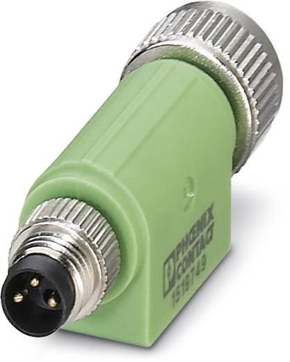 Sensor-/Aktor-Verteiler und Adapter M8, M12 Adapter, gerade Polzahl (RJ): 3 Phoenix Contact 1519749 SAC-3P-M 8MS-M12FS