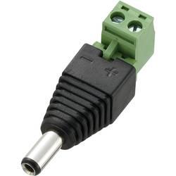 Nízkonapäťový konektor zástrčka, rovná Conrad Components 5.5 mm, 2.5 mm, 1 ks