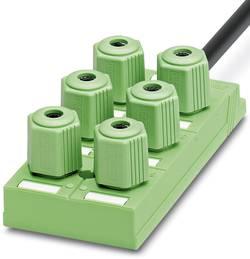 Répartiteur passif connecteur QUICKON Phoenix Contact SACB-6Q/4P- 5,0PUR 1683688 1 pc(s)