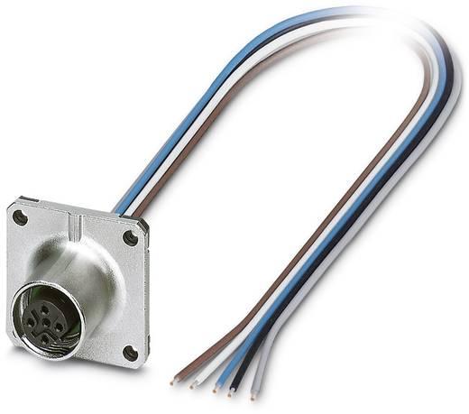 Sensor-/Aktor-Einbausteckverbinder M12 Buchse, Einbau 0.50 m Polzahl: 5 Phoenix Contact 1441671 SACC-SQ-M12FSB-5CON-20/0