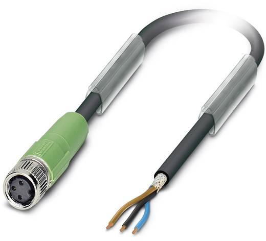Sensor-/Aktor-Steckverbinder, konfektioniert M8 Buchse, gerade 5 m Polzahl (RJ): 3 Phoenix Contact 1521737 SAC-3P- 5,0-P