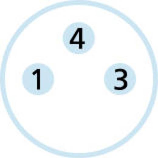 M8 Einbaustecker Pole: 3 ESP3S Escha Inhalt: 1 St.