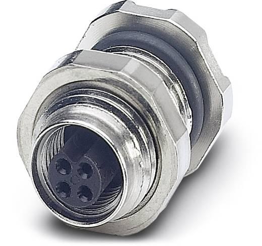 Sensor-/Aktor-Einbausteckverbinder M5 Buchse, Einbau Polzahl: 4 Phoenix Contact 1530650 SACC-DSI-M5FS-4CON-L180 20 St.