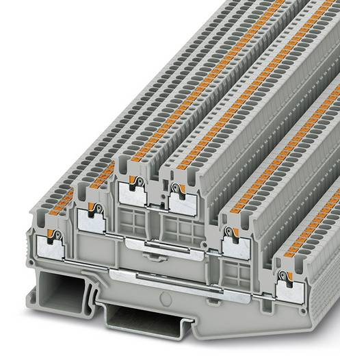 PT 1,5/S-3L - Mehrstockklemme PT 1,5/S-3L Phoenix Contact Grau Inhalt: 50 St.