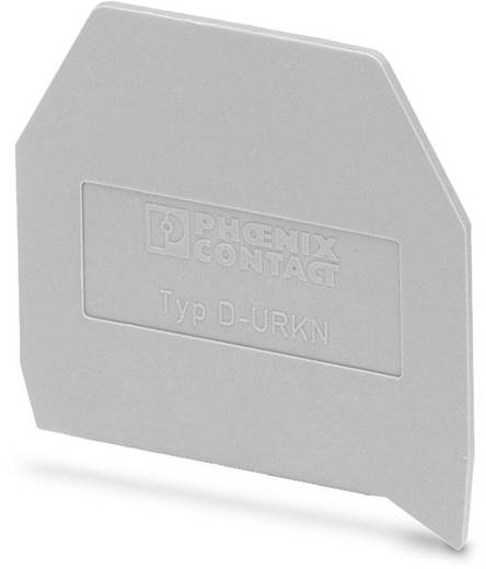 D-URKN - Abschlussdeckel D-URKN Phoenix Contact Inhalt: 50 St.