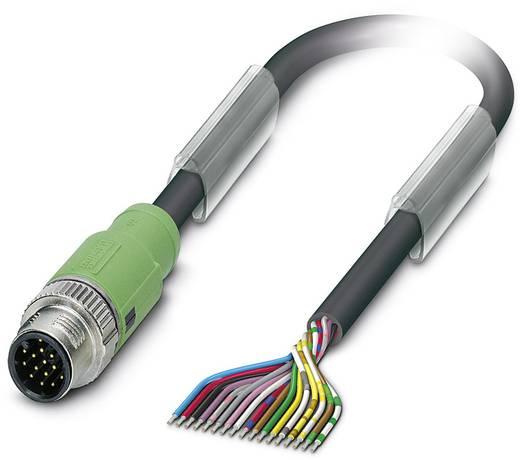 Sensor-/Aktor-Steckverbinder, konfektioniert M12 Stecker, gerade 5 m Polzahl: 17 Phoenix Contact 1555282 SAC-17P-MS/ 5,0