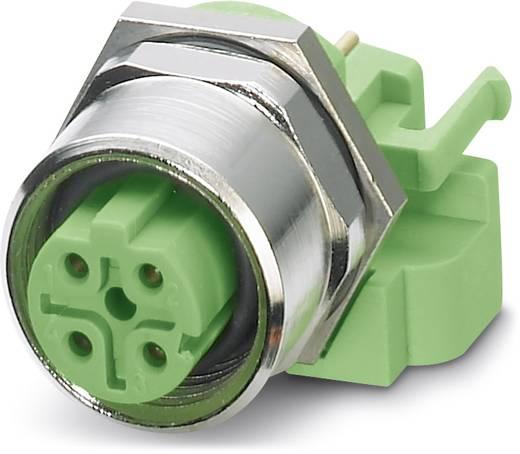 Sensor-/Aktor-Einbausteckverbinder M12 Buchse, Einbau Polzahl (RJ): 4 Phoenix Contact 1534627 SACC-DSIV-M12FSD-4CON-L18