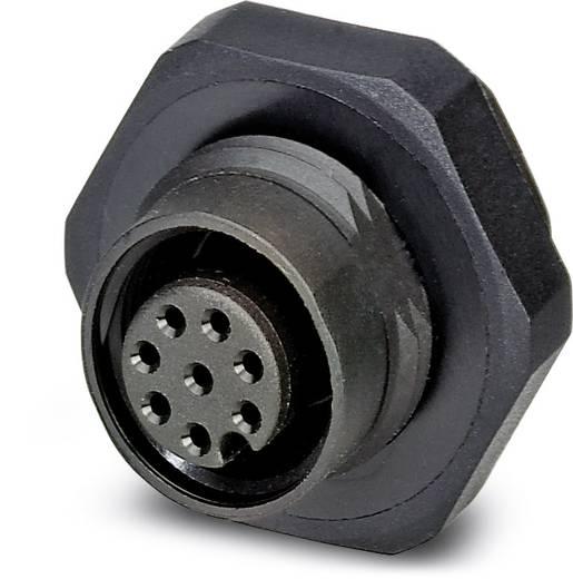 Sensor-/Aktor-Einbausteckverbinder M12 Buchse, Einbau Polzahl (RJ): 8 Phoenix Contact 1436343 SACC-DSI-M12FS-8CON-L180P