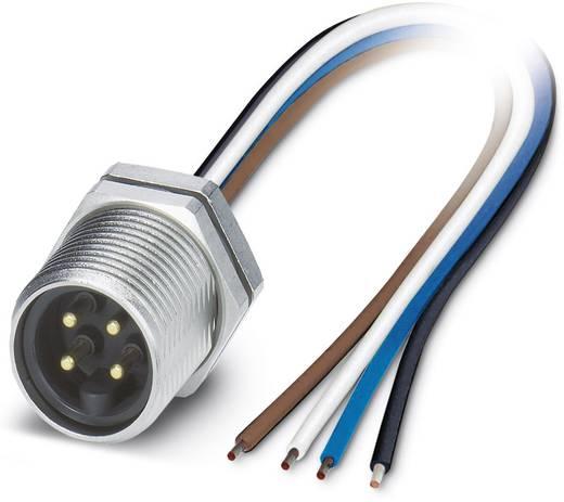 "Sensor-/Aktor-Einbausteckverbinder 7/8"" Stecker, Einbau 1 m Polzahl: 4 Phoenix Contact 1453766 SACC-DSI-MINMS-4CON-UNF/1"