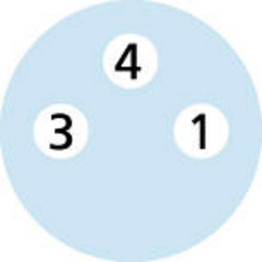 "M8 Sensor-/Aktor-Kabel ""Automation Line"" Verbindungsleitung AL-SKP3-2-AL-SSP3/S370 Escha Inhalt: 1 St."