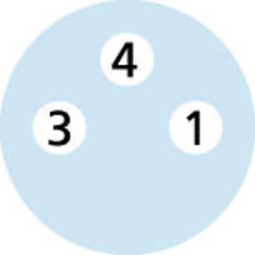 Sensor-/Aktor-Steckverbinder, konfektioniert M8 Stecker, gerade 2 m Polzahl: 3 Escha 8052490 AL-KP3-2/P00 1 St.