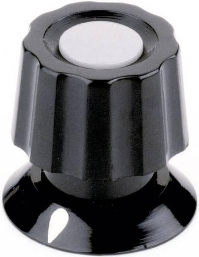 Drehknopf mit Zeiger Schwarz (Ø x H) 21 mm x 19 mm Mentor 477.61 1 St.