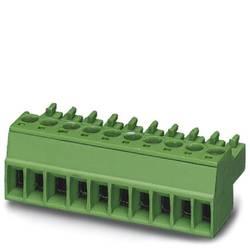 Zásuvkové púzdro na kábel Phoenix Contact MC 1,5/ 2-ST-3,5 BK 1916384, 16.10 mm, pólů 2, rozteč 3.50 mm, 50 ks