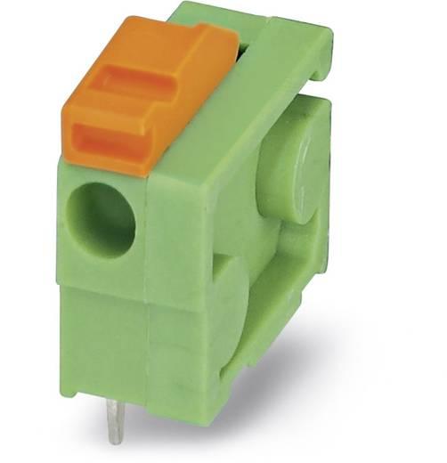 Federkraftklemmblock 1.00 mm² Polzahl 1 FFKDSA1/H-6,35 Phoenix Contact Grün 50 St.