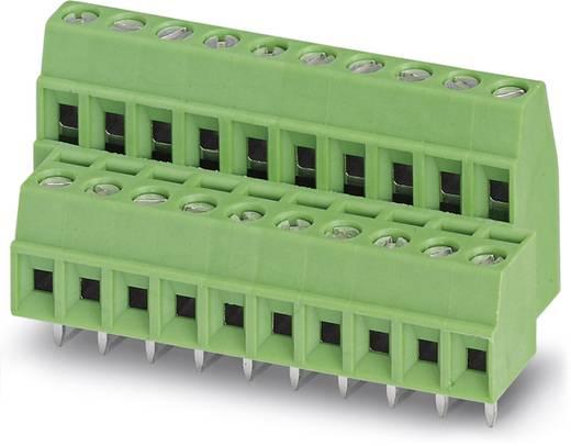 Doppelstockklemme 1.00 mm² Polzahl 16 MKKDS 1/ 8-3,81 Phoenix Contact Grün 50 St.