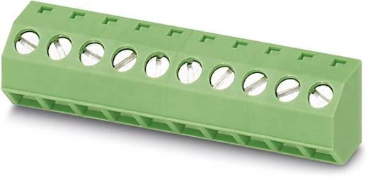 Schraubklemmblock 1.50 mm² Polzahl 10 SMKDSNF 1,5/10-5,08 Phoenix Contact Grün 50 St.