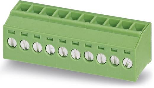 Schraubklemmblock 1.50 mm² Polzahl 10 MKDSFW 1,5/10-3,5 Phoenix Contact Grün 50 St.