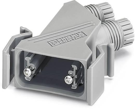 D-SUB Gehäuse Kunststoff, metallisiert 180 ° Silber Phoenix Contact VS-09-T-2M16 5 St.