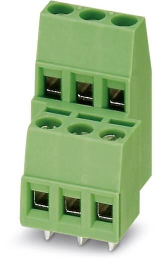 Doppelstockklemme 1.50 mm² Polzahl 6 MKKDS 1,5/ 3-5,08 Phoenix Contact Grün 100 St.