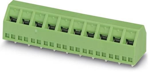 Schraubklemmblock 1.50 mm² Polzahl 10 SMKDSN 1,5/10-5,08 Phoenix Contact Grün 100 St.