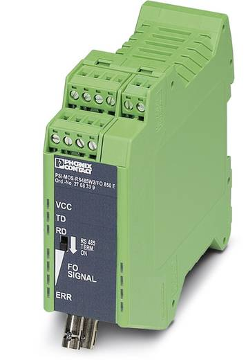 LWL-Umsetzer Phoenix Contact PSI-MOS RS485W2 / FO 850 E LWL-Konverter