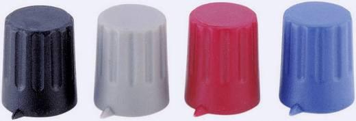Drehknopf mit Zeiger Rot (Ø x H) 12 mm x 14 mm Strapubox 12/4 1 St.