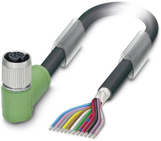 Sensor-/Aktor-Steckverbinder, konfektioniert M12 Buchse, gewinkelt 1.50 m Polzahl: 12 Phoenix Contact 1430161 SAC-12P- 1