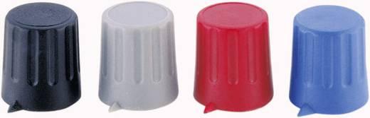 Drehknopf mit Zeiger Grau (Ø x H) 15 mm x 16 mm Strapubox 15/6 1 St.