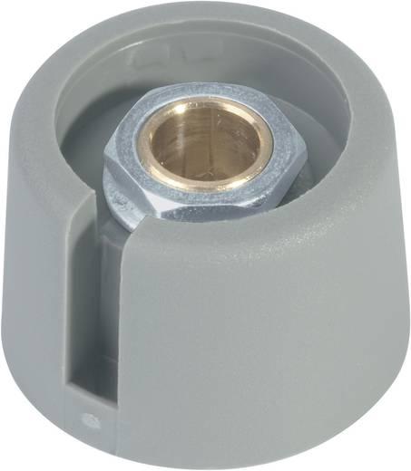 Drehknopf Grau (Ø x H) 16 mm x 16 mm OKW A3016068 1 St.
