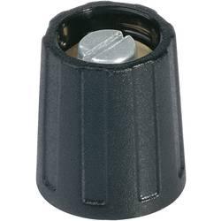 Otočný gombík OKW A2640060, čierna, 1 ks