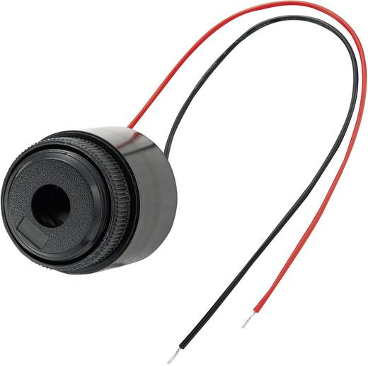 Piezo-Signalgeber Geräusch-Entwicklung: 85 dB Spannung: 12 V Dauerton KEPO KPI-G3700-K6278 1 St.